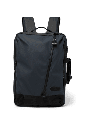 Master-Piece - Slick Series CORDURA-Trimmed Coated-Shell Backpack - Men - Blue