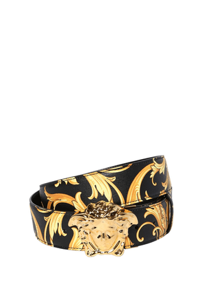 40mm Reversible Baroque Leather Belt