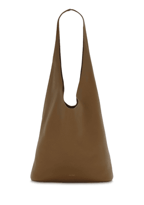 Bindle Three Grained Leather Bag