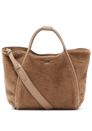 Marinm Small faux shearling tote