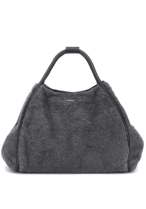 Tmarin wool and alpaca-blend shopper