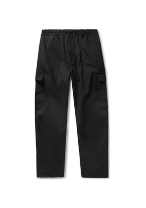 Y-3 - Drill Cargo Trousers - Men - Black