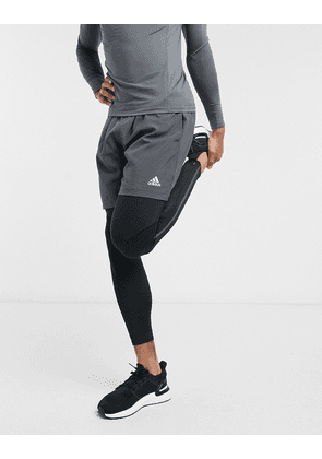 adidas Saturday training tight in black