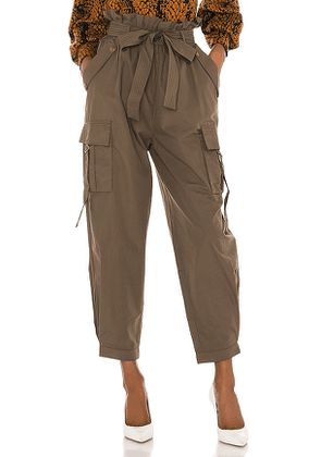 Ulla Johnson Willett Pant in Army. Size 0,2,8.