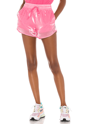 Nike Sheen Air Short in Pink. Size XS,S,M,XL.