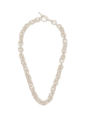 Pearls Before Swine - Textured Sterling-silver Chain Necklace - Mens - Silver