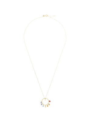 Persee - Chakras Diamond, Sapphire & 18kt Gold Necklace - Womens - Yellow Gold