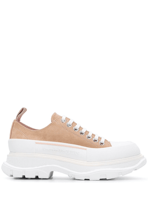 Alexander McQueen Tread Slick sneakers - Brown