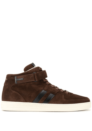 Tom Ford Radcliffe high-top sneakers - Brown