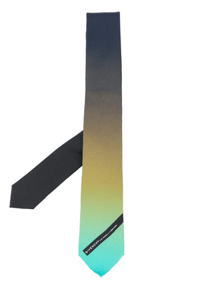 Givenchy colour-gradient silk tie - Black