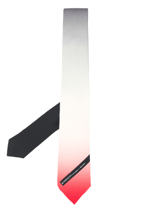 Givenchy colour-gradient silk tie - White