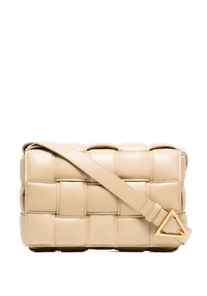 Bottega Veneta Cassette padded shoulder bag - Neutrals