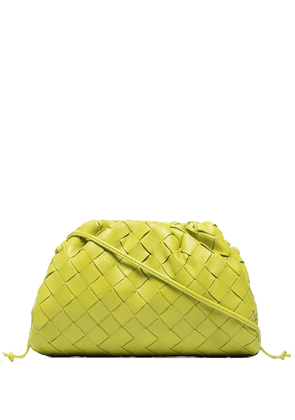 Bottega Veneta mini pouch clutch bag - Green