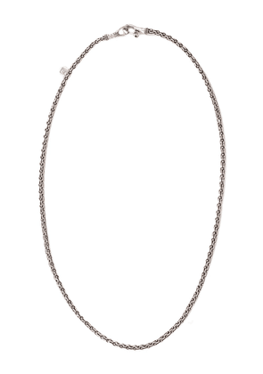 John Varvatos cable link chain necklace - SILVER