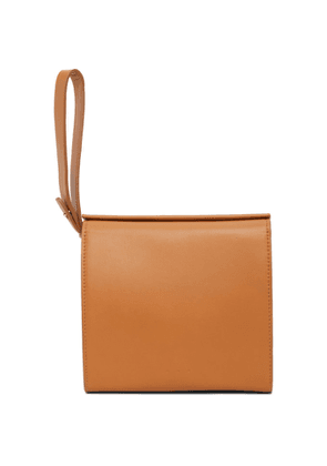 Aesther Ekme Brown Square Pouch