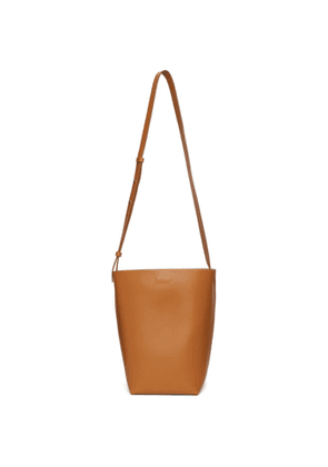 Aesther Ekme Brown Leather Midi Shoulder Bag