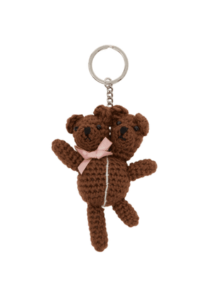 Marc Jacobs Brown Heaven by Marc Jacobs Double Headed Teddy Keychain