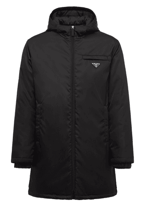 Prada puffer jacket - Black