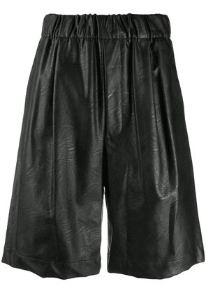 Jejia high-rise bermuda shorts - Black
