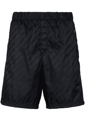 Givenchy logo track shorts - Black