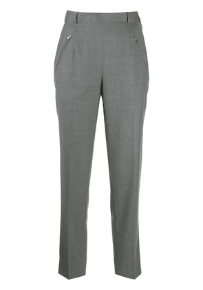 Maison Margiela high-rise tailored trousers - Grey