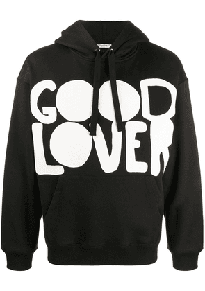 Valentino Good Lover print hoodie - Black
