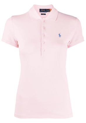 Polo Ralph Lauren fitted polo shirt - PINK