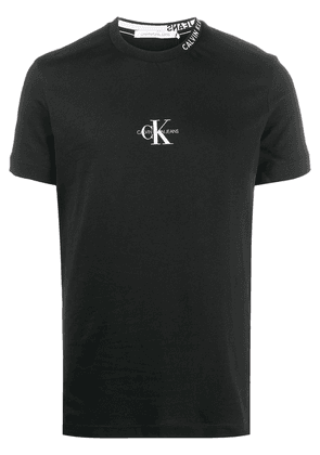 Calvin Klein Jeans slim-fit logo T-shirt - Black