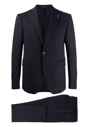 Tagliatore single-breasted wool suit - Blue