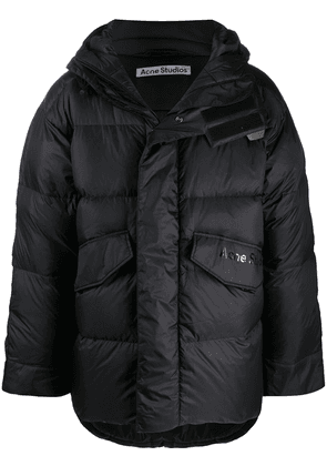 Acne Studios oversized quilted puffer jacket - Black