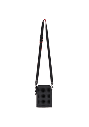 Christian Louboutin Black Loubilab Messenger Bag