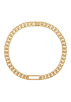 Numbering Gold 937 Chain Necklace