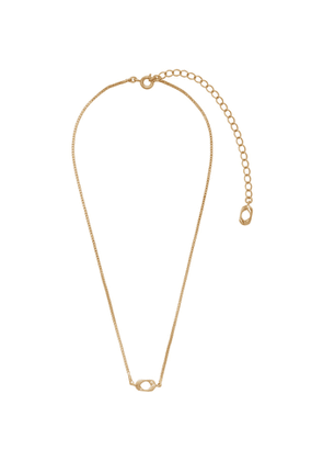 Numbering Gold 947 Necklace