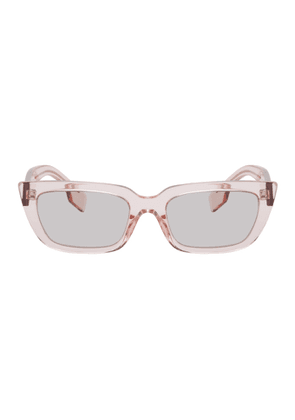 Burberry Pink Square Sunglasses