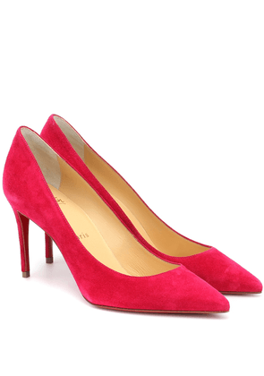 Kate 85 suede pumps