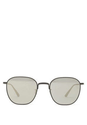 The Row - X Oliver Peoples Board Meeting 2 Metal Sunglasses - Womens - Black