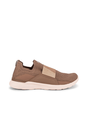 APL: Athletic Propulsion Labs TechLoom Bliss Sneaker in Brown,Mayve. Size 7,8,8.5.