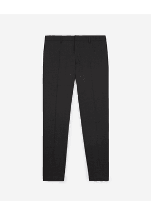 The Kooples - Slim-fit grey suit trousers lined with wool - MEN