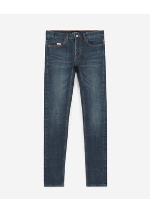The Kooples - Slim-fit faded blue jeans - MEN