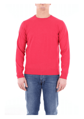 Della Ciana sweater with crew neck in wool and cashmere blend