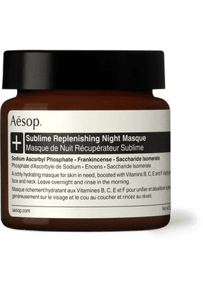 Aesop - Sublime Replenishing Night Masque, 60ml - Men - Colorless