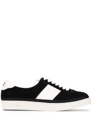 Tom Ford panelled low-top senakers - Black