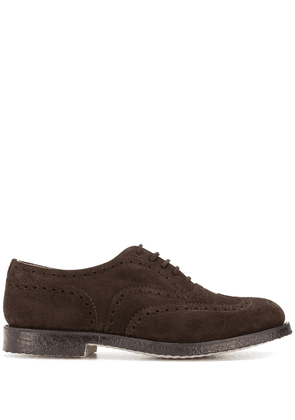 Church's Amersham suede Oxford brogues - Brown