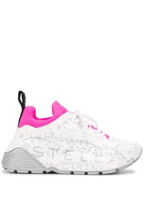 Stella McCartney logo-print Eclypse sneakers - White