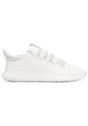 adidas lace up trainers - White