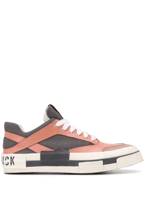 Hide & Jack colour-block low-top sneakers - PINK