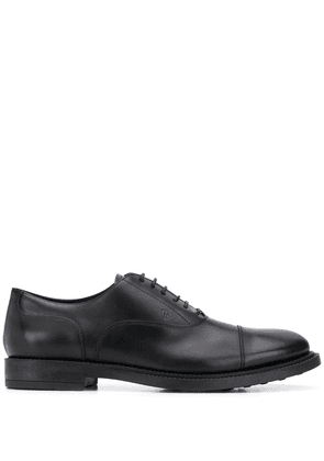 Tod's leather Oxford shoes - Black