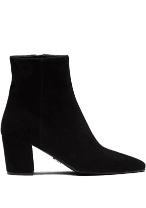 Prada point-toe ankle boots - Black