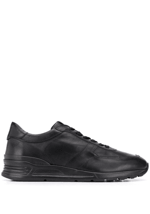 Tod's leather lace-up sneakers - Black
