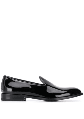 Scarosso patent loafers - Black